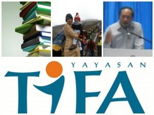 Yayasan Tifa Hibah 1000 Buku