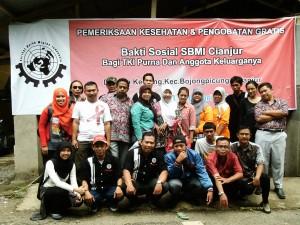 sbmi cianjur laksanakan pengobatan gratis di bojong picung