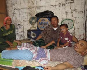 siwanto bmi asal lamongan, 6 tahun terbaring ditempat tidurnya