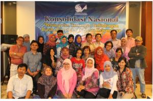 konsolidasi nasional, desak rumah transisi bentuk pokja ketenagakerjaan