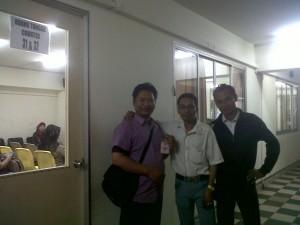 abdul Awi di KBRI Malaysia
