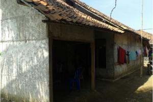 Kondisi rumah orang tua korban trafficking