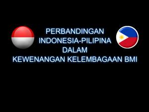 Perbandingan Indonesia-Pilipina