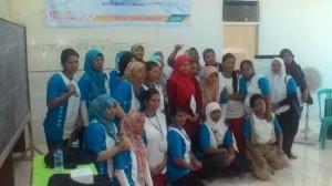 Peserta pelatihan wirausaha di Krasak Indramayu