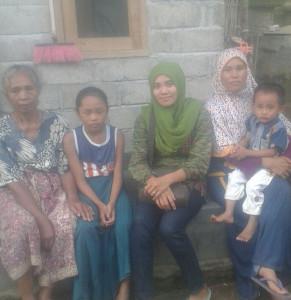 potret keluarga TKI Lombok Timur