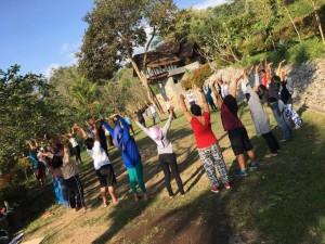 Pegiat Buruh MIgran Latihan Penyembuhan Diri