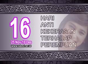 16 hari anti kekerasan terhadap perempuan